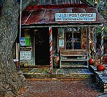 Luckenbach TX Painted by Judy Vincent