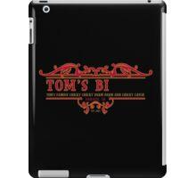Tom's Bi... iPad Case/Skin