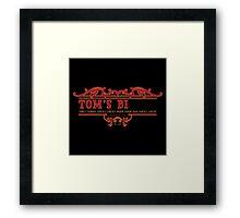Tom's Bi... Framed Print