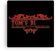 Tom's Bi... Canvas Print