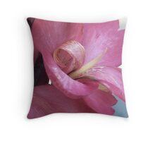 Petal Roll Throw Pillow