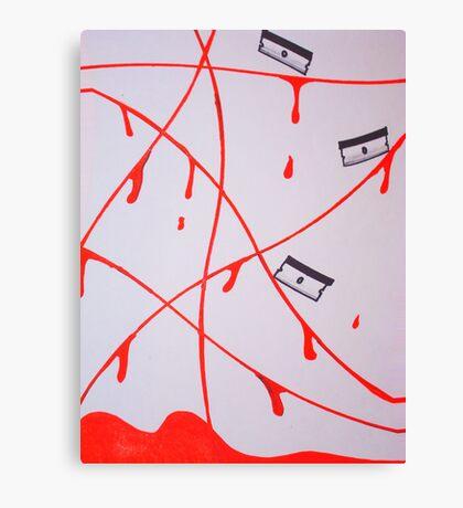Paper Cut Canvas Print