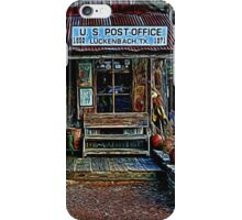 Luckenbach TX Painted iPhone Case/Skin