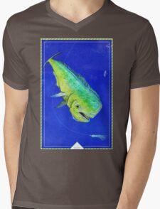 Mahi Mahi Mens V-Neck T-Shirt