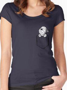 Pocket monster Women's Fitted Scoop T-Shirt