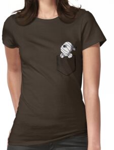 Pocket monster Womens Fitted T-Shirt