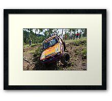 Tough Tracks Rd 1 2008 Framed Print