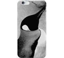 Black and White Emperor Penguin iPhone Case/Skin