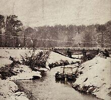 snow scene by A.R. Williams