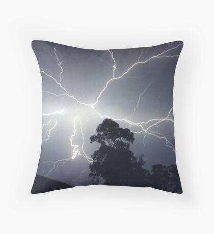 Sydney Lightning Explosion ! Throw Pillow