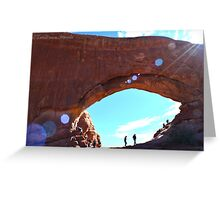 Explore Moab Arches Photographic Print Greeting Card