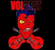 Volbeat fan art heavy metal  by gjnilespop