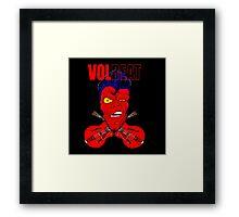 Volbeat fan art heavy metal  Framed Print