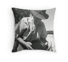 Panning Throw Pillow