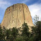 Devils Tower National Monument  by Julie's Camera Creations <><