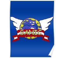 Sanic the Hegehog Poster