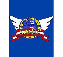 Sanic the Hegehog Photographic Print