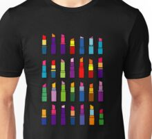 Lipsticks pattern Unisex T-Shirt