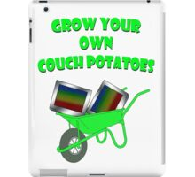grow your own couch potatoes  iPad Case/Skin