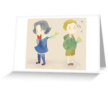 Baby Outlaw Queen Greeting Card