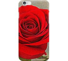 Painted Rose iPhone Case/Skin