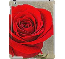 Painted Rose iPad Case/Skin