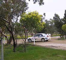 evo lancer Adelaide rally 2008 by Malkman