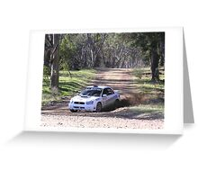 fastest WRX of the day Greeting Card
