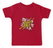 Comic Book POP ART Kids Tee