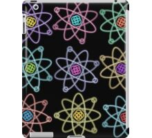 Gold - Silver Atomic Structure pattern iPad Case/Skin
