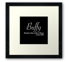 Buffy Since - Light Framed Print