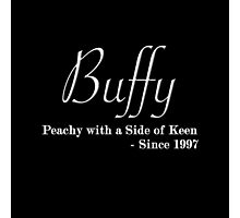 Buffy Since - Light Photographic Print