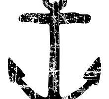 Anchor Vintage Black by theshirtshops