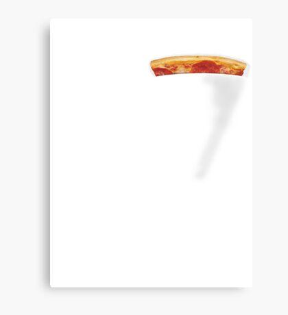 Pizza Pocket Metal Print