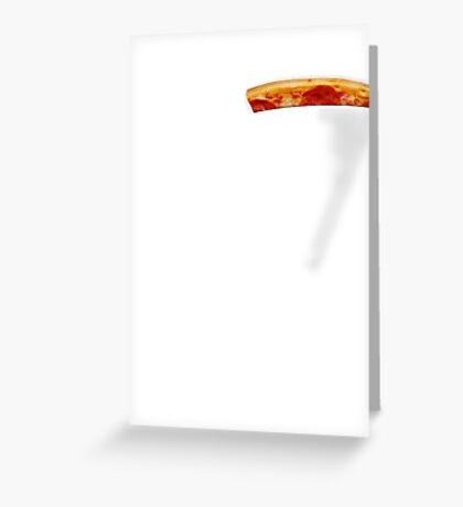 Pizza Pocket Greeting Card
