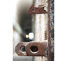 Jail Lock Photographic Print