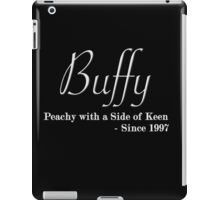 Buffy Since - Light iPad Case/Skin