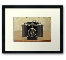 Classic Camera Certo Dollina Framed Print