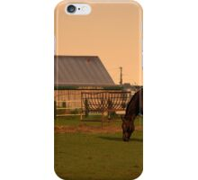 Sunset at Hatfield Farm iPhone Case/Skin