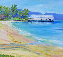 Old Ben Cropp Marine Museum Port Douglas by Virginia McGowan
