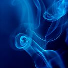 Blue Smoke Trails by Mary Broome