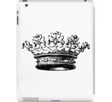 Vintage Crown iPad Case/Skin