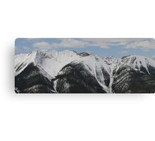 Rocky Mountains #3 Canvas Print