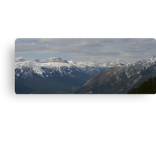 Rocky Mountains #5 Canvas Print