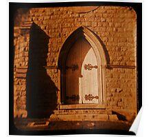Cathedral Door Poster