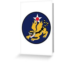 14th Air Force  WWII  USAAF Greeting Card