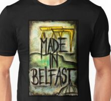 Made in Belfast oil pastel Unisex T-Shirt