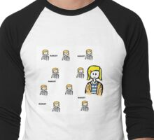 margot 2 Men's Baseball ¾ T-Shirt
