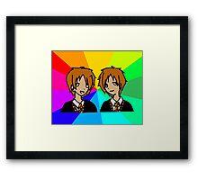 Harry Potter   Weasley Twins Framed Print