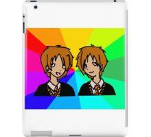 Harry Potter | Weasley Twins iPad Case/Skin